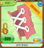 Arm Brace red