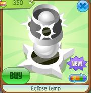 Eclipse Lamp white