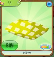 Pillow yellow