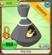 Shop Fire-Pot Grey
