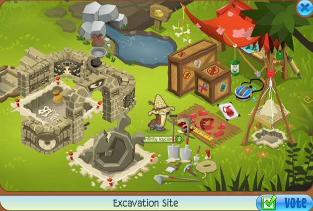 excavation site collection animal jam wiki fandom powered by wikia