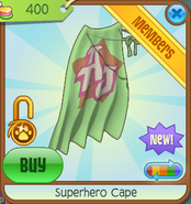 Bahari-Bargains Superhero-Cape Lime