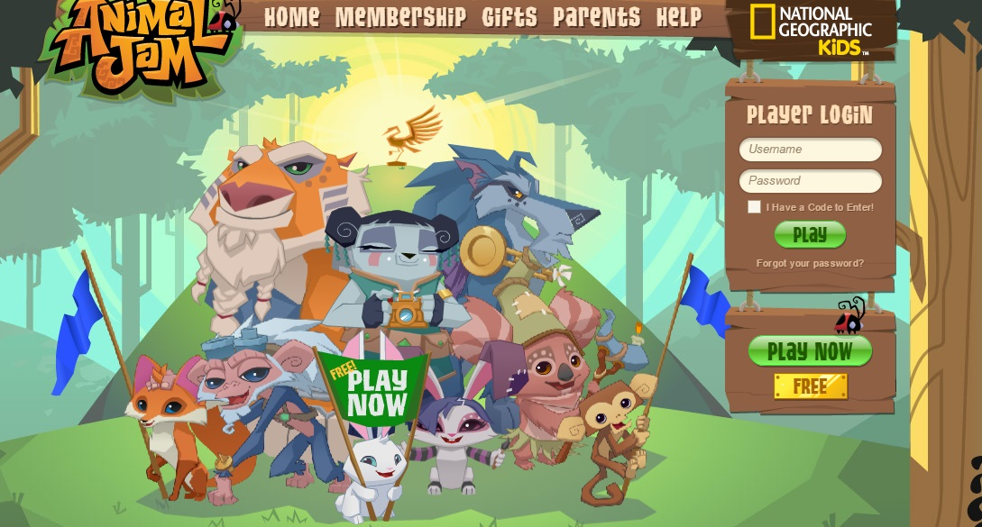Image Homepage Animal Jamg Animal Jam Wiki Fandom Powered