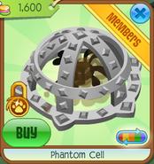 Phantom cell clicked