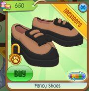 Fancy Shoes (Light Rust-Orange)