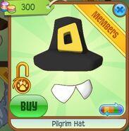 Pilgrim Hat (Black-Gray)