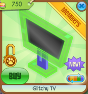 Shop Glitchy-TV Green