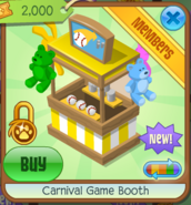 Carnival Game Booth 4