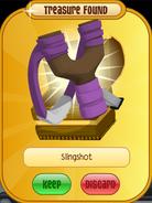 Phantom-Portal Lion Slingshot Purple