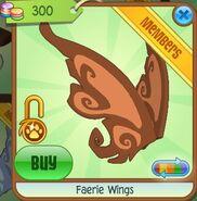 Faerie Wings (Dark-Orange)