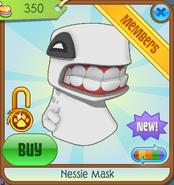 Bahari-Bargains Nessie-Mask White