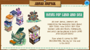 Jamaa-Journal 2018-06-22 Items for Land and Sea