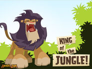 Animal Jam King of the Jungle Wallpaper