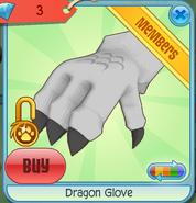 Dragon Glove white