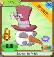Snowman Mask3