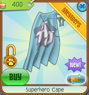 Bahari-Bargains Superhero-Cape Sky-Blue