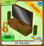 HD Television brown