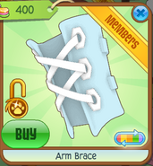 Arm Brace blue