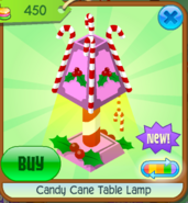 Candy Cane Table Lamp 5