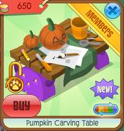 Pumpkin carving table 07