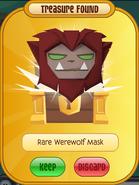 TT-Prize3 Rare-Werewolf-Mask red