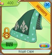 Royal cape blue stores