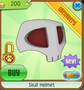 Skull Helmet 8