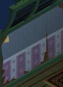 Epic-Haunted-Manor Blue-Star-Wallpaper