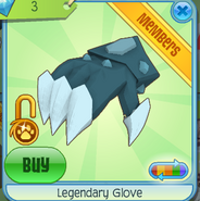Legendary Glove Blue