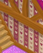 Friendship-Cottage Dust-Striped-Walls