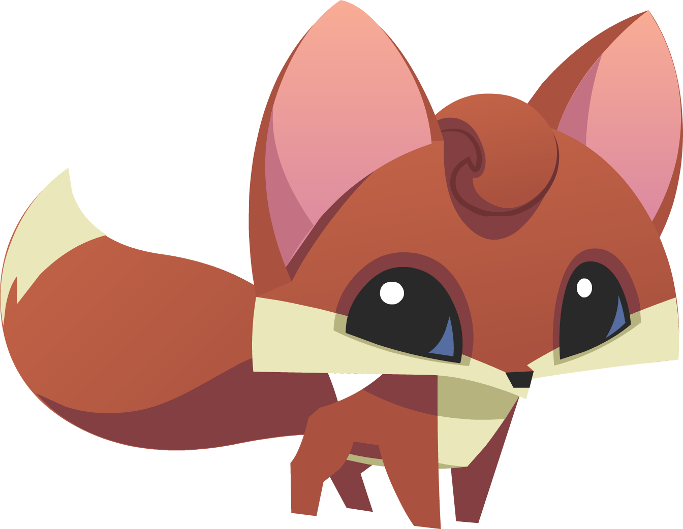 Fox Emoji To Color On Paint