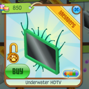 Underwater HDTV green