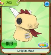 Dragon Mask yellow