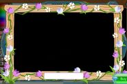 Masterpiece spring flower frame
