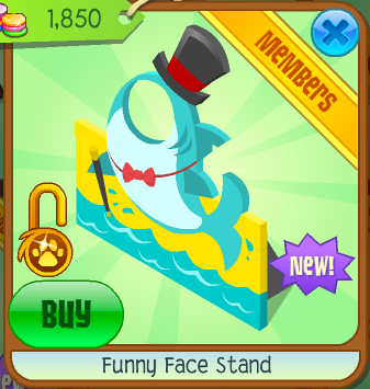 Funny Face Stand Animal Jam Wiki Fandom Powered By Wikia