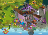 April fools party panorama