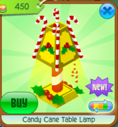 Candy Cane Table Lamp 4