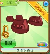Elf Bracelets red