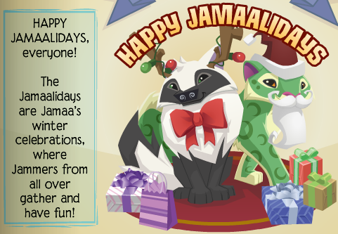 Animal jam greelys info prizes for ugly sweater