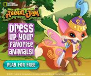 AJ dress up ad