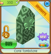 Sunken-Treasures Coral-Tombstone Green-Skull