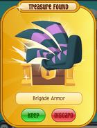 Brigade Armor (green, purple)
