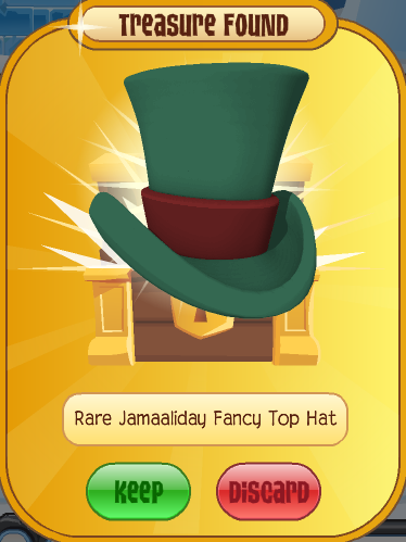 Rare Jamaaliday Fancy Top Hat Animal Jam Wiki Fandom