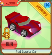Red sports car 3