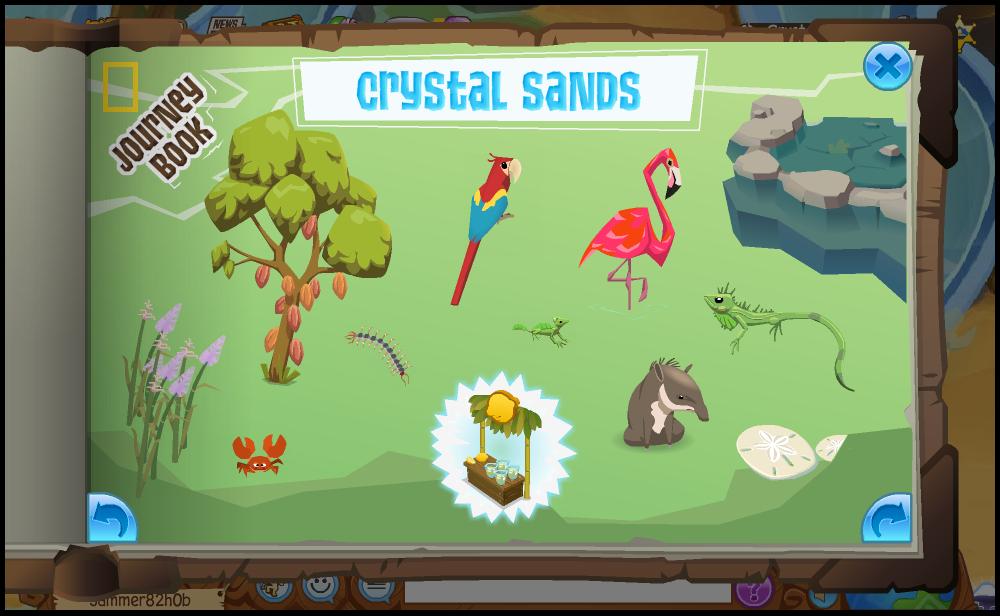 Image of: Youtube Animal Jam Wiki Fandom Journey Book crystal Sands Animal Jam Wiki Fandom Powered By Wikia