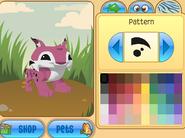 Lynx pattern