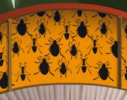 Mushroom-Hut Bat-Wallpaper