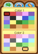 Pet Dolphin Color Choices