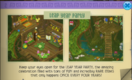Leap year party 2016 animal jam