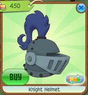 Shop Knight-Helmet Blue